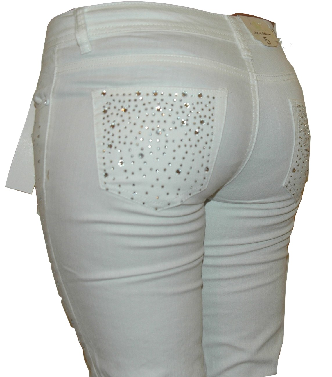 White Denim Jeans Women