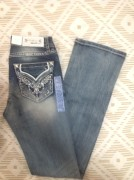 Grace La Western Emb Boot Cut (1)